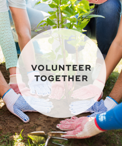 8. Volunteer together