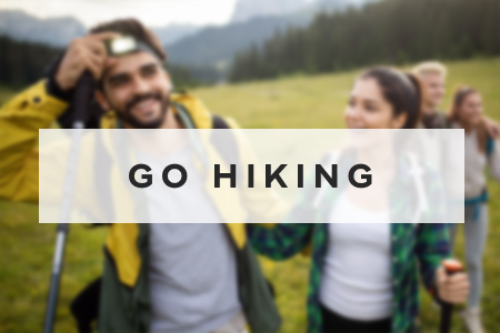 9. Go hiking