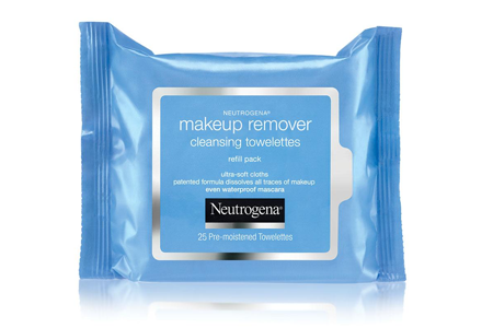 9. Neutrogena Makeup Remover Cleansing Towelettes