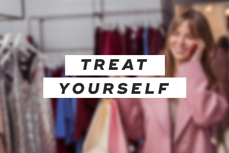 9. Treat yourself