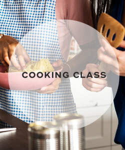 9. Cooking class