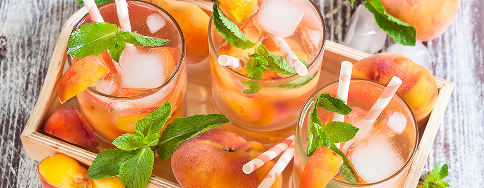 peach cocktail recipes