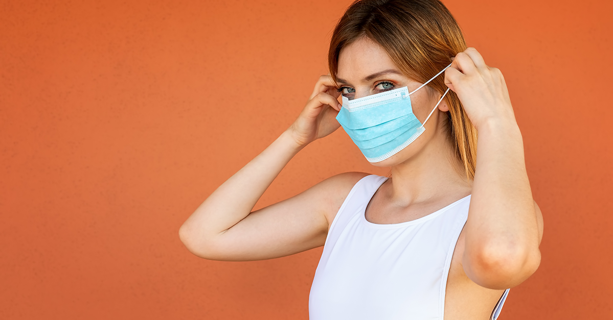 should I wear a face mask during exercise