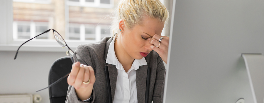 work stress not happy at job
