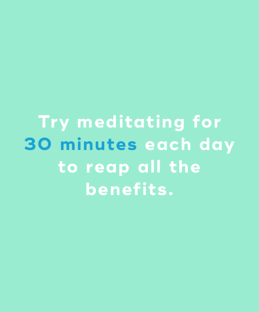 mediation 30 minutes a day