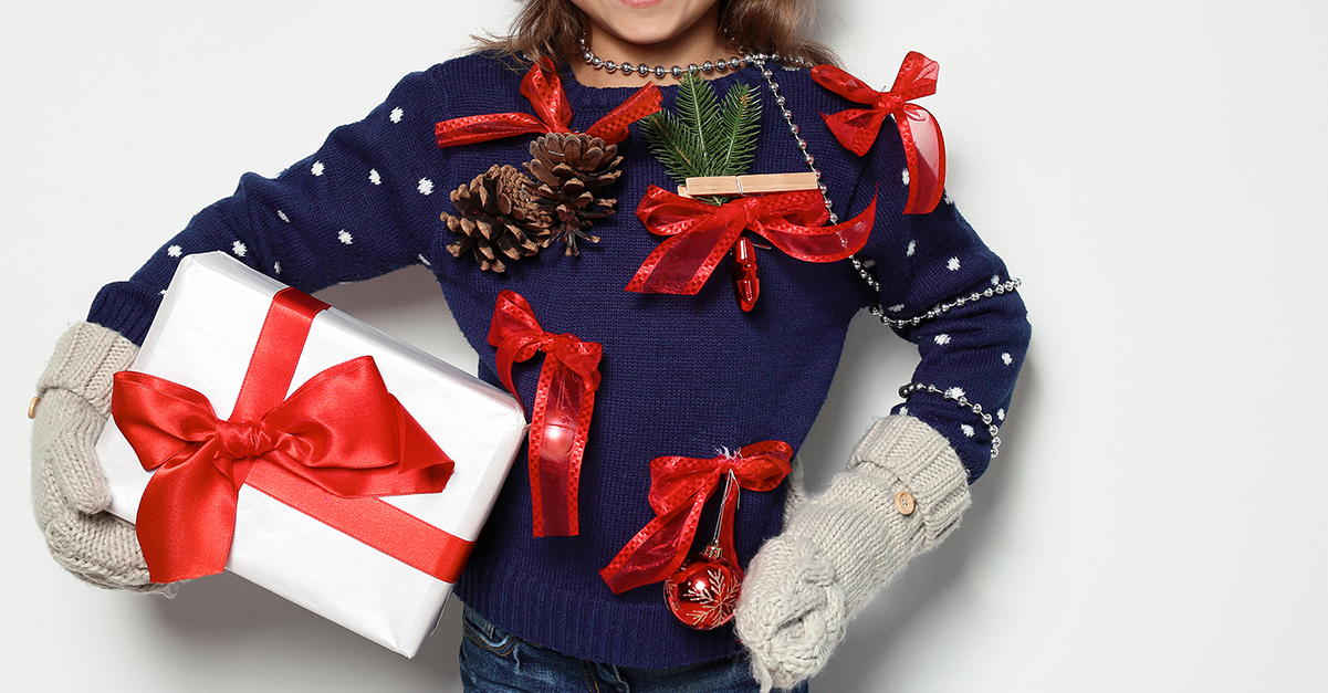5 DIY Ugly Holiday Sweaters (That are Actually Pretty Cute)