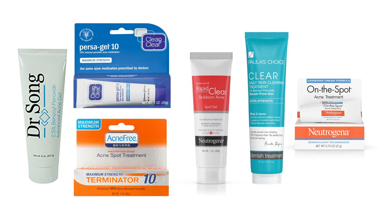 Kick Acne In The Butt With These 16 Benzoyl Peroxide Skincare Products