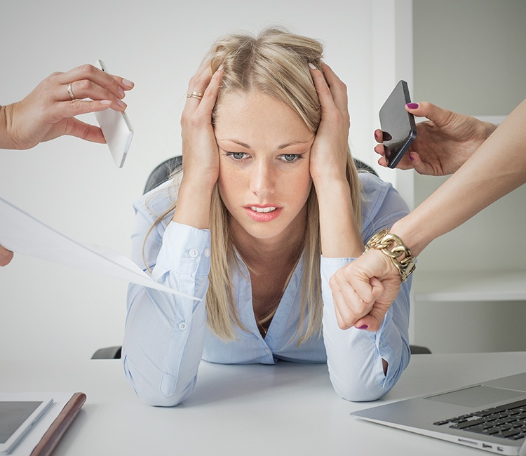 Here's How to Cure Workplace Stress